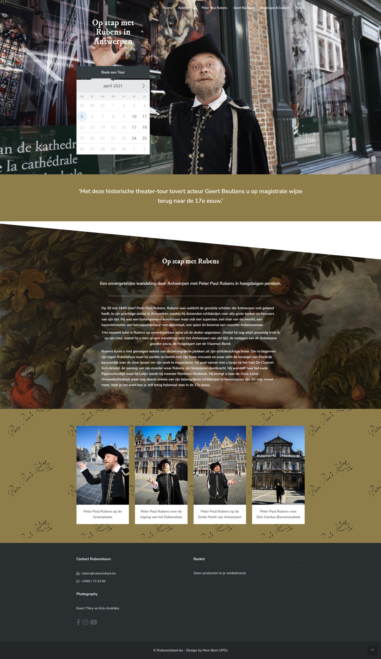 webdesign webdevelopment wordpress Antwerpen Rubens is back Geert Beullens